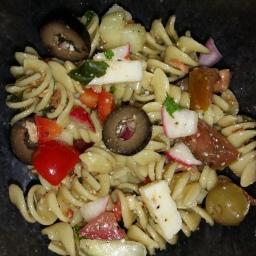 Italian Olive and Herb Pasta Salad