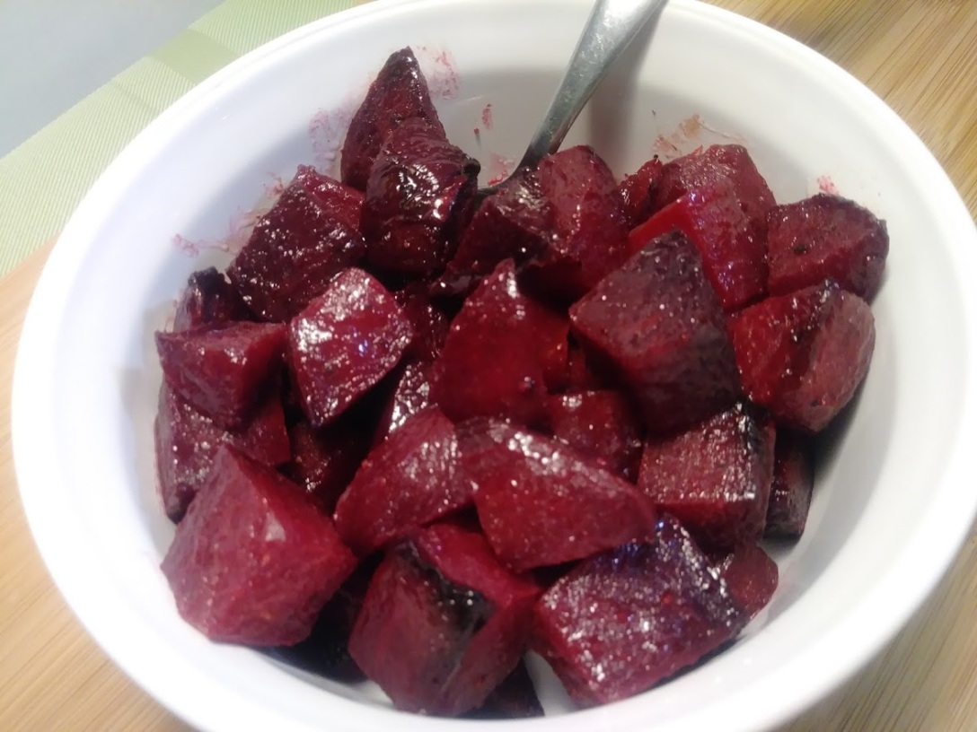 roasted beets for salads and snacking