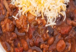 Turkey & Bean Chili (Slow Cooker)