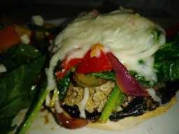Portobello Burger & Veggie Melt