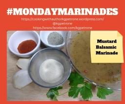 Mustard Balsamic Marinade