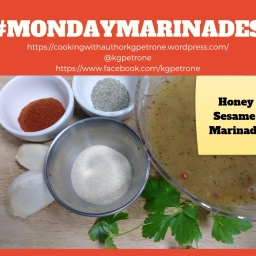 Honey Sesame Marinade