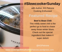 Beef & Bean Chili (Slow Cooker)