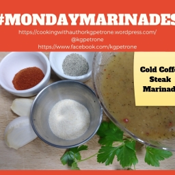 Cold Coffee Steak Marinade