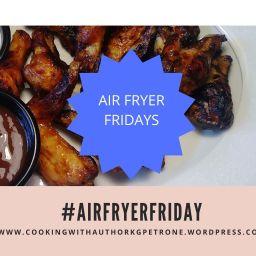 Chicken Wings (Air Fryer Recipe)