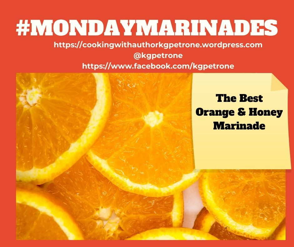 Mondaymarinades Orange & Honey