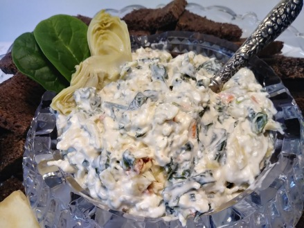 Artichoke and Spinach Dip1