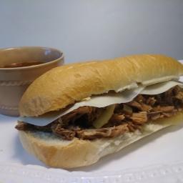 Beef'umm Sandwiches w/ Au Jus