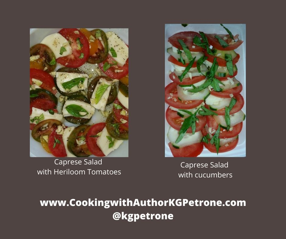 Caprese Salad with Heriloom Tomatoes