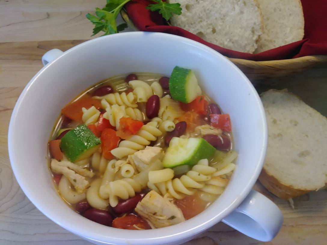 Chicken and Bean Soup