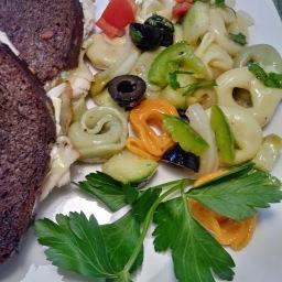 Garden Tortellini Salad