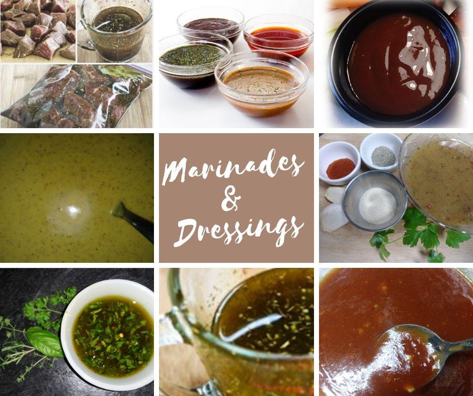 Marinades & Dressings