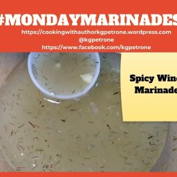 Spicy Wine Marinade