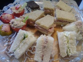 tea sandwiches round 1