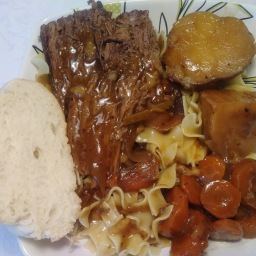Pot Roast (Slow Cooker Recipe)