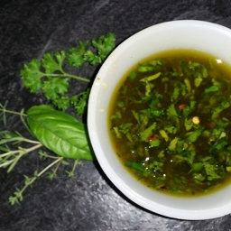 Fresh Herb Infused Olive Oil